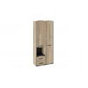 Шкаф комбинированный «Кристофер» (Фон Серый/Олд Стайл) ТД-328.07.26