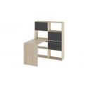 Стол письменный тип 7 (Дуб Сонома/Графит Серый)