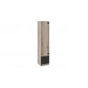Шкаф для белья комбинированный «Окланд» ТД-324.07.21 (Фон Черный/Дуб Делано)