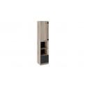 Шкаф комбинированный «Окланд» ТД-324.07.20 (Фон Черный/Дуб Делано)