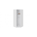 Шкаф угловой с 1 дверью «Синди» СМ-320.07.313 (Белый глянец/Дуб Гамильтон)
