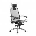 Кресло руководителя Samurai S-2.04 Черный