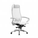 Кресло руководителя Samurai S-1.04 Белый Лебедь