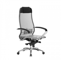 Кресло руководителя Samurai S-1.04 Серый