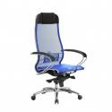 Кресло руководителя Samurai S-1.04 Синий