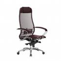 Кресло руководителя Samurai S-1.04 Темно-бордовый