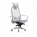 Кресло руководителя Samurai S-2.04 Белый Лебедь