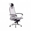 Кресло руководителя Samurai S-2.04 Серый
