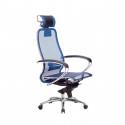 Кресло руководителя Samurai S-2.04 Синий