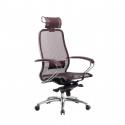 Кресло руководителя Samurai S-2.04 Темно-бордовый