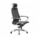 Кресло руководителя Samurai S-2.04 Черный Плюс
