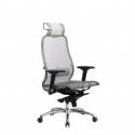 Кресло руководителя Samurai S-3.04 Белый Лебедь