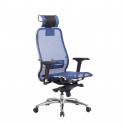 Кресло руководителя Samurai S-3.04 Синий