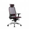 Кресло руководителя Samurai S-3.04 Темно-бордовый