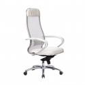 Кресло руководителя Samurai SL-1.04 Белый Лебедь
