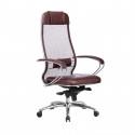Кресло руководителя Samurai SL-1.04 Темно-бордовый