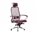 Кресло руководителя Samurai SL-2.04 Темно-бордовый