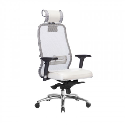 Кресло руководителя Samurai SL-3.04 Белый Лебедь