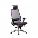 Кресло руководителя Samurai SL-3.04 Темно-бордовый