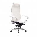 Кресло руководителя Samurai K-1.04 Белый Лебедь