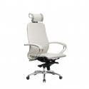 Кресло руководителя Samurai K-2.04 Белый Лебедь