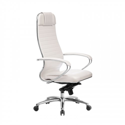 Кресло руководителя Samurai KL-1.04 Белый Лебедь
