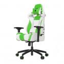 Игровое компьютерное кресло Vertagear SL4000 (Белый/Зеленый)