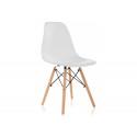 Пластиковый стул Eames PC-015 белый