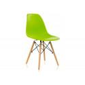 Пластиковый стул Eames PC-015 зеленый