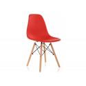 Пластиковый стул Eames PC-015 красный