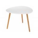 Журнальный столик Hofer белый