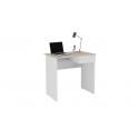Стол компьютерный «Diamond» тип 1 (Дуб Сонома/Белый)