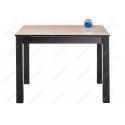 Стеклянный стол Раймунд бежевый / венге