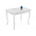 Стеклянный стол Бриллиант белый
