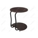 Журнальный столик Андромеда черный матовый / орех