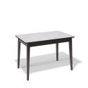 Стол обеденный Kenner 1100 М венге/стекло белое