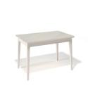 Стол обеденный Kenner 1100 М крем/стекло крем