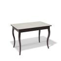 Стол обеденный Kenner 1100 С венге/стекло крем