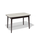 Стол обеденный Kenner 1200 М венге/стекло крем