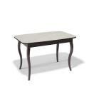 Стол обеденный Kenner 1200 С венге/стекло крем глянец