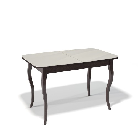 Стол обеденный Kenner 1200 С венге/стекло крем сатин