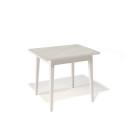 Стол обеденный Kenner 900 М крем/стекло крем глянец