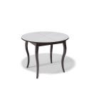 Стол обеденный Kenner 1000 С венге/стекло белое сатин