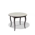 Стол обеденный Kenner 1000 С венге/стекло крем сатин