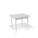 Стол обеденный Kenner 900 С белый/стекло белое