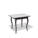 Стол обеденный Kenner 900 С венге/стекло белое