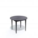 Стол обеденный Kenner Q1000 черный/ясень графит