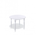 Стол обеденный Kenner CA1000, белый/дуб белый
