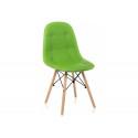Деревянный стул Kvadro green