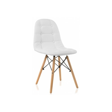 Деревянный стул Kvadro white